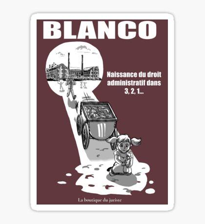 Blanco Sticker