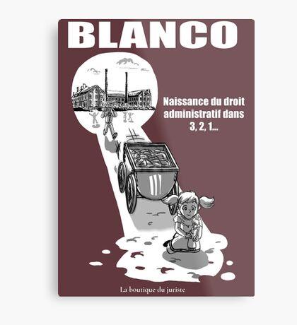 Blanco Impression métallique