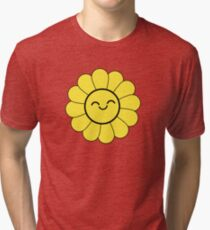 Happy Sunflower  Tri-blend T-Shirt