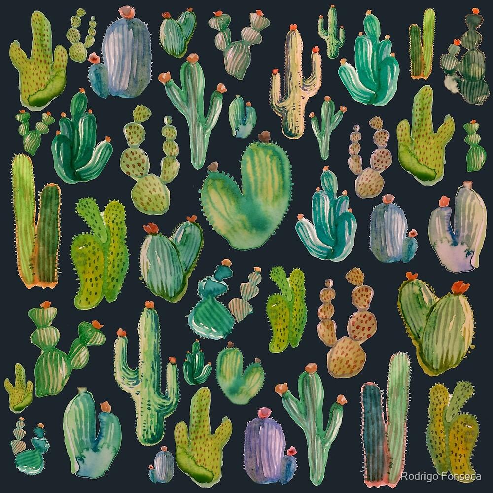 Cactus Pattern by Rodrigo Fonseca