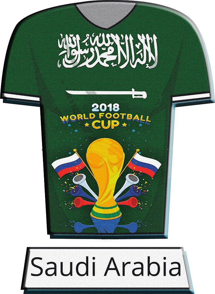 World Cup 2018 Group A Saudi Arabia by cristianocosta