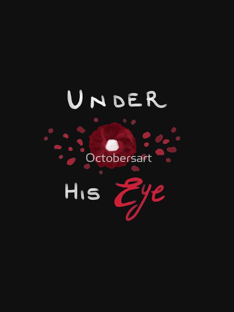 Under his eye by Octobersart