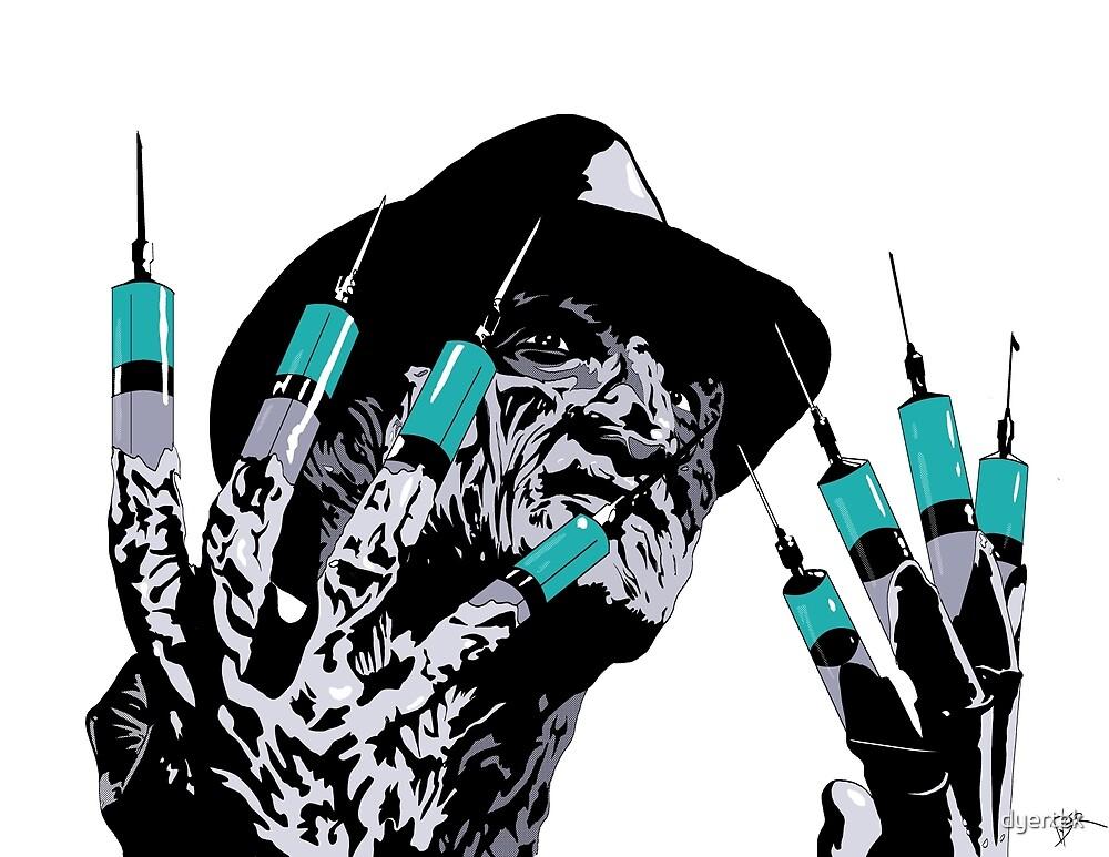 Inspired by a Nightmare on Elm Street scene - Freddy by dyertek