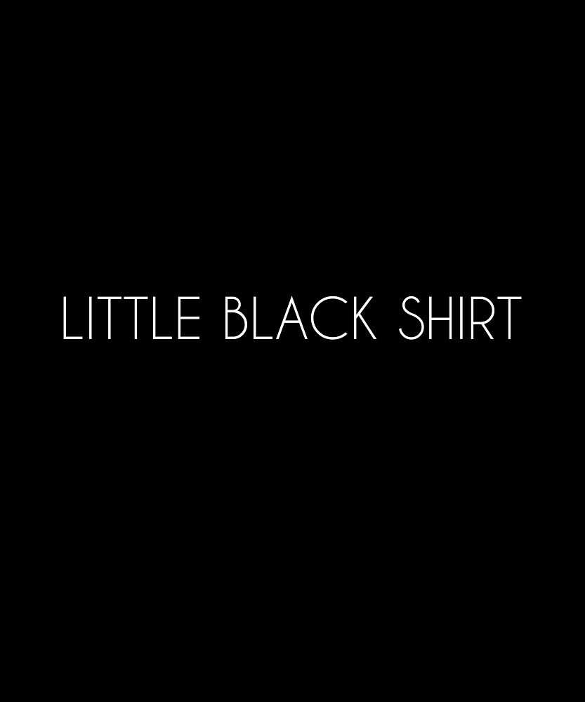 Little Black Shirt in any color and any form by ShineEyePirate