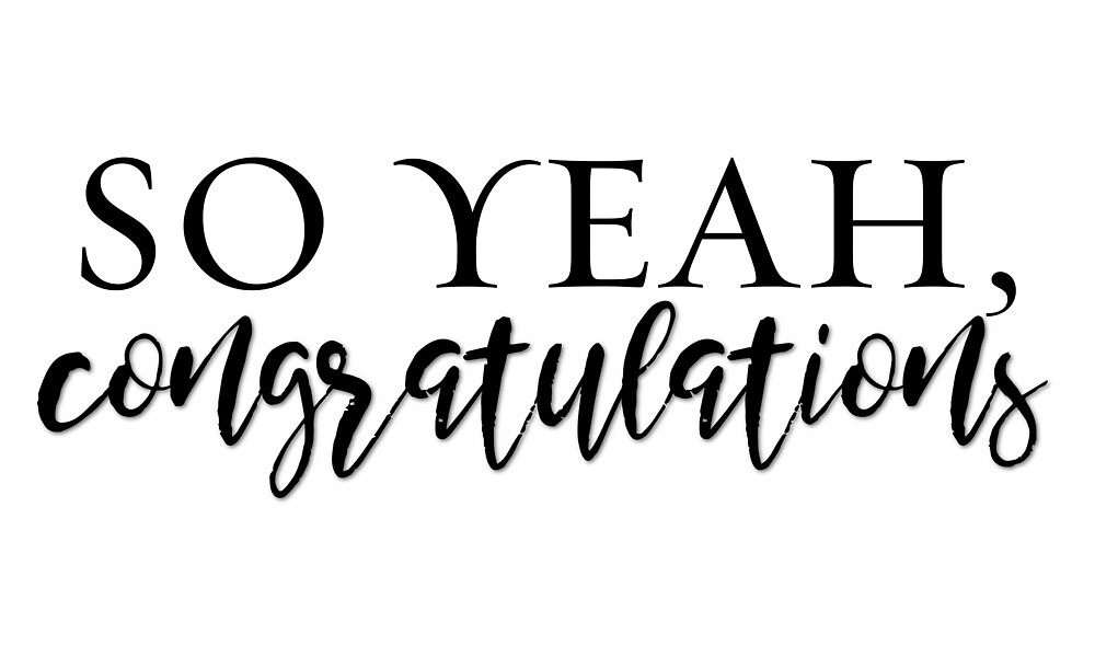 Congratulations by firestarlover
