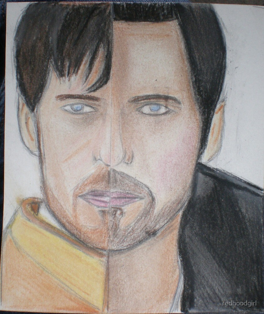 there are two sides to Captain Hook once upon a time  by redhoodgirl