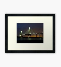 Arthur Ravenel Bridge Framed Print