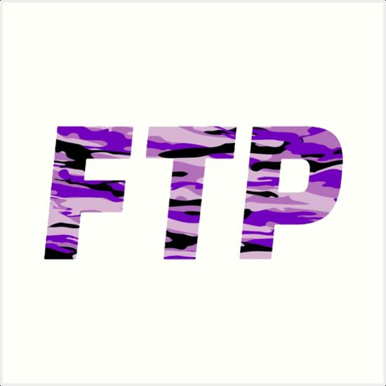 6481c8547485cf FTP Purple Camo