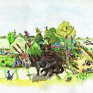 Witchington Gärten von ansho