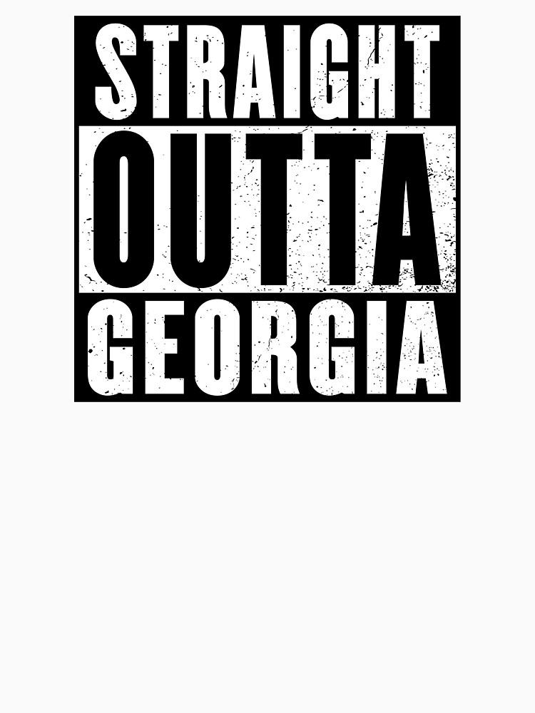 STRAIGHT OUTTA GEORGIA by NotYourDesign