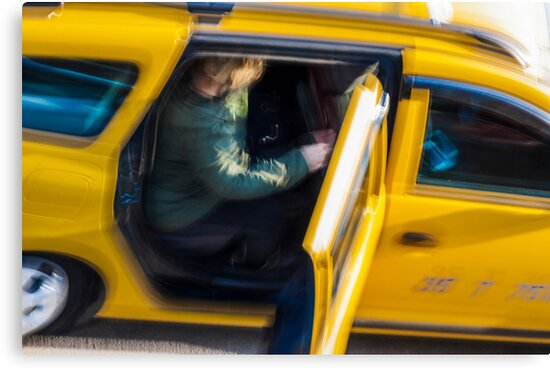 Taxi passenger's coming out by carlotoffolo