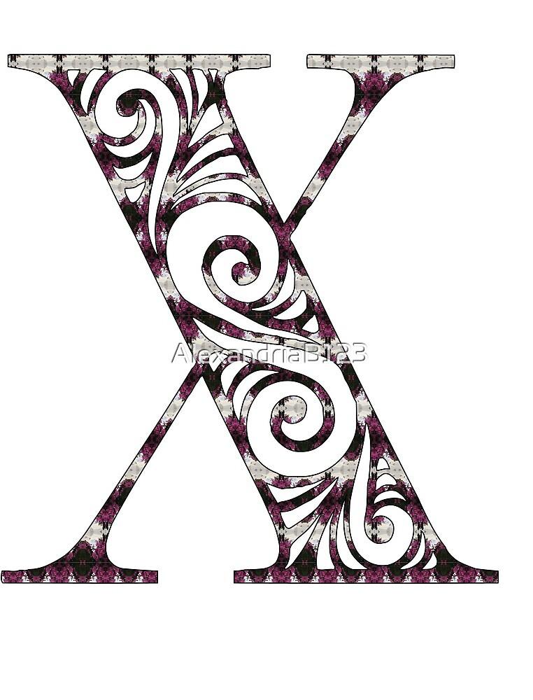 Initial- X by AlexandriaB123
