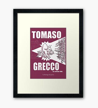 Tomaso Grecco Impression encadrée