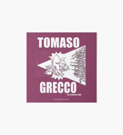 Tomaso Grecco Impression rigide