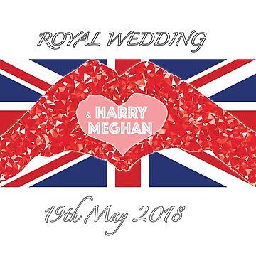 Royal wedding  harry and Meghan by yellowpinko
