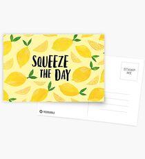 Drücken Sie den Tag zusammen Postkarten
