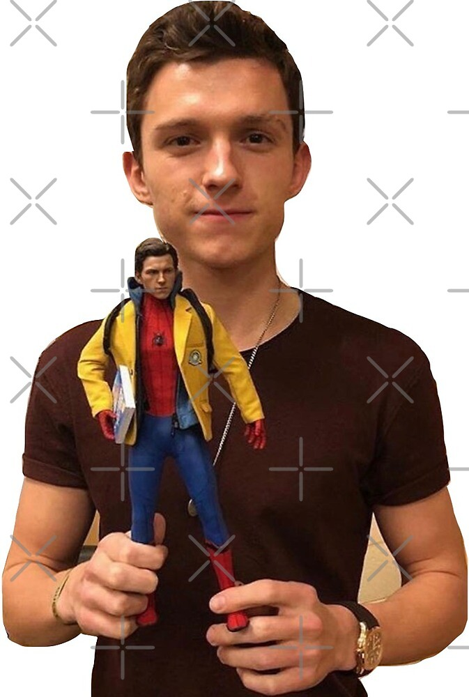 tom holland and mini peter by M Meyer
