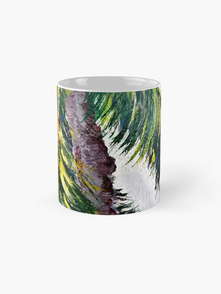 Alternate view of UP SO HIGH Standard Mug