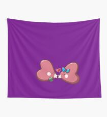 Cute Luvdisc Smooches Wall Tapestry