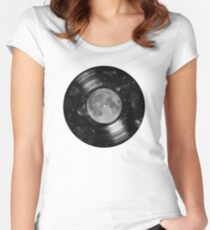 Galaxy Tunes Women's Fitted Scoop T-Shirt
