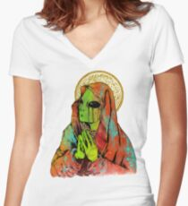 The Virgin Mother Fitted V-Neck T-Shirt