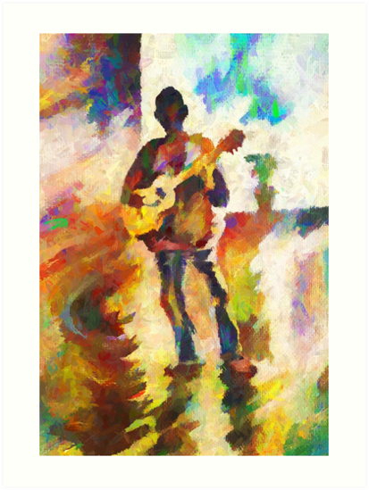 Guitarist: Color of Music by Oleg Atbashian