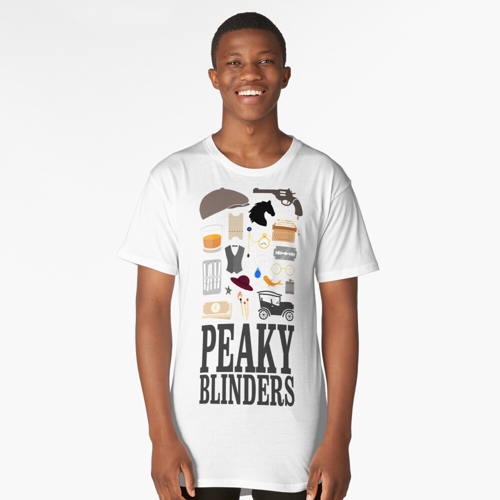 Peaky Blinders Stuff Long T-Shirt Front