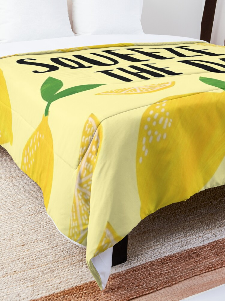 Alternate view of Squeeze the Day Comforter