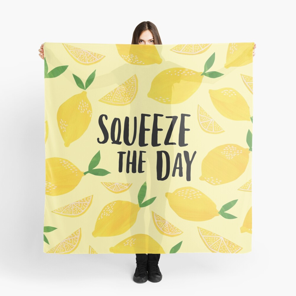 Squeeze the Day Scarf