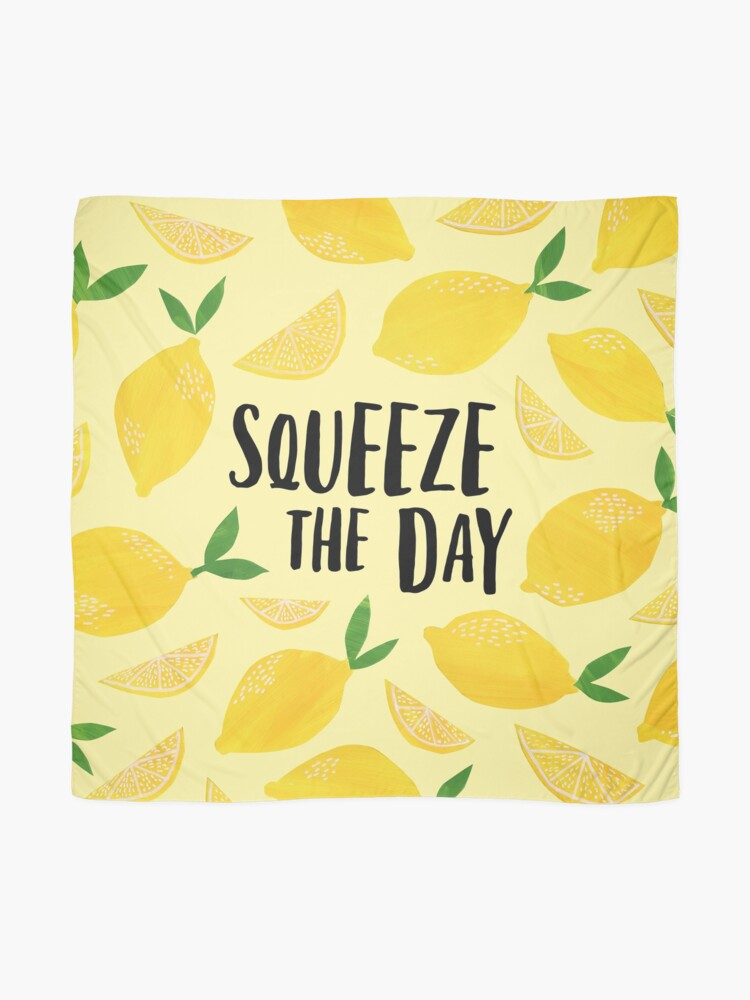 Alternate view of Squeeze the Day Scarf