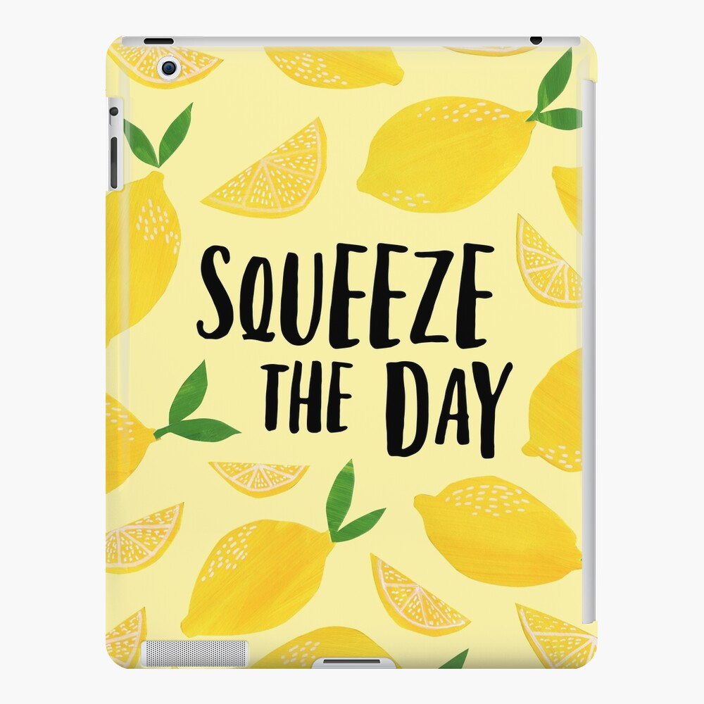 Squeeze the Day iPad Case & Skin