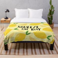Squeeze the Day Throw Blanket