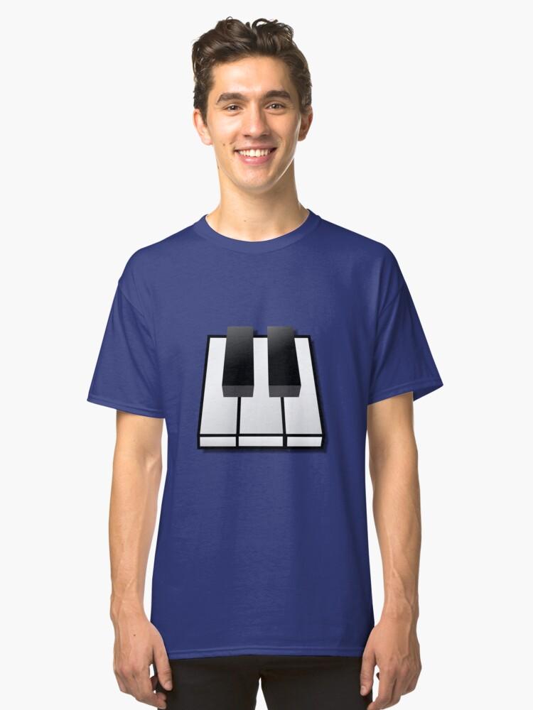 piano Classic T-Shirt Front