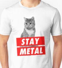 STAY METAL Slim Fit T-Shirt