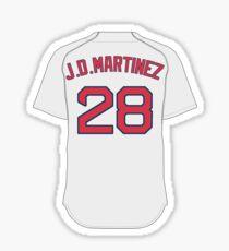 Boston Red Sox - JD Martinez  Sticker