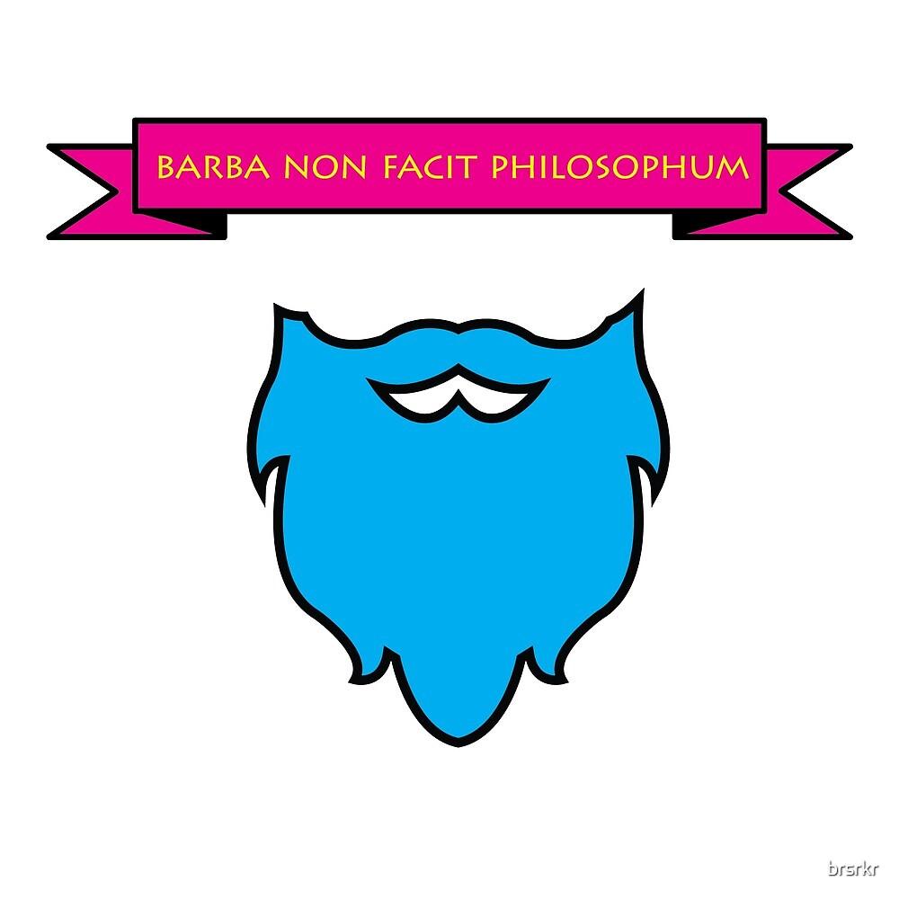 Barba Non Facit Philosophum by brsrkr