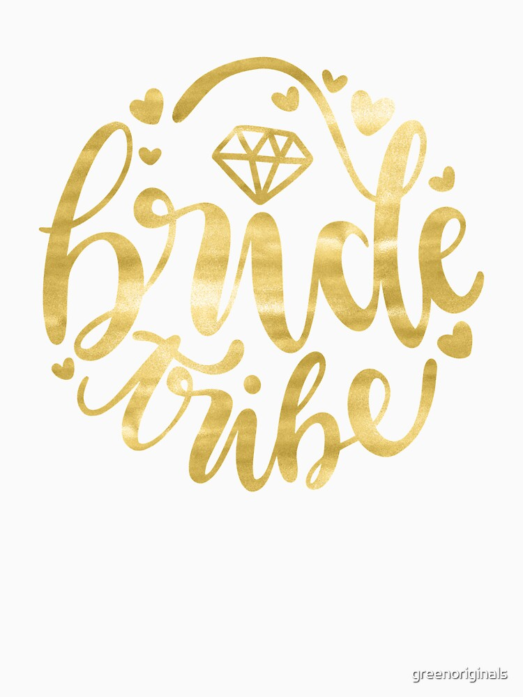 Bride Tribe - for the Wedding Party by greenoriginals