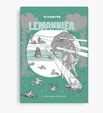 Lemonnier Impression sur toile