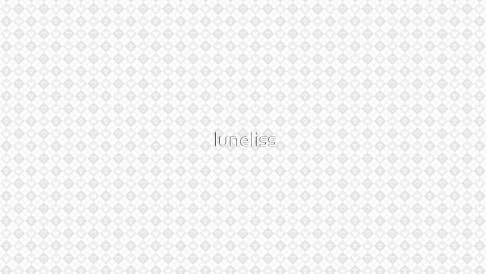 Kingdom Hearts Birth By Sleep Pattern by luneliss