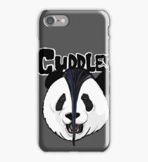 the misfits cute panda bear parody iPhone Case/Skin