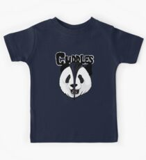 the misfits cute panda bear parody Kids Tee