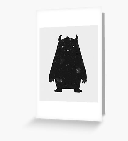 Mr. Cosmos Greeting Card