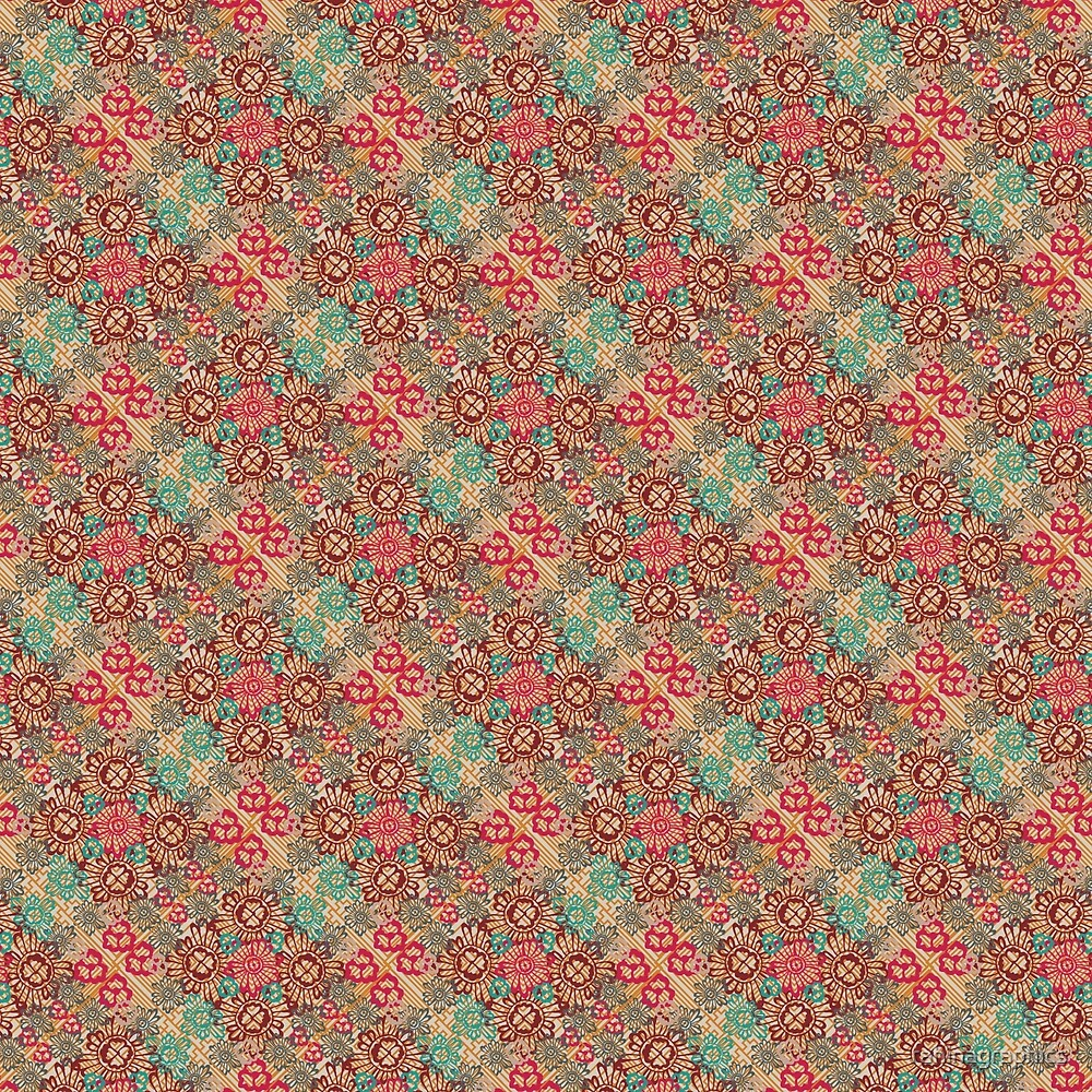 Floral Meets Geometric by rahinagraphics