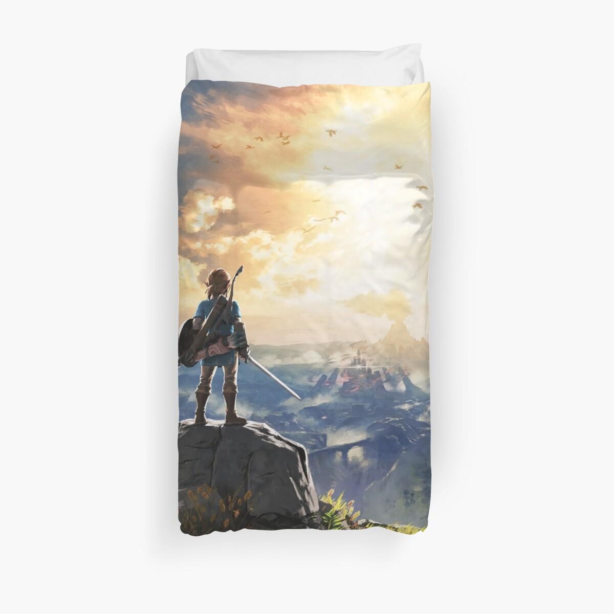 """Legend Of Zelda : Breath Of The Wild Art"" Duvet Covers By"