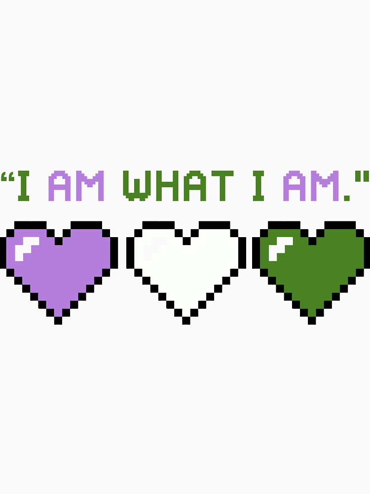 I Am What I Am - Genderqueer Edition by Nuevaofnight