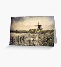 Dutch Nostalgia Greeting Card