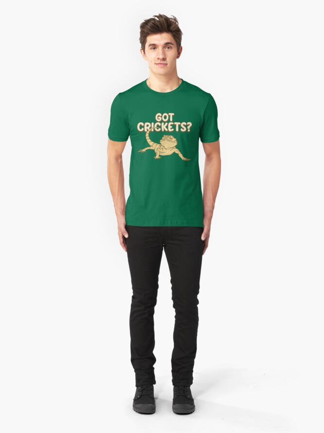 Alternative Ansicht von Got Crickets - Funny Reptile Gift Slim Fit T-Shirt