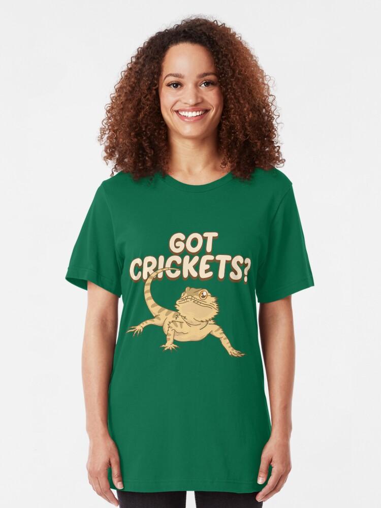 Alternative Ansicht von Got Crickets - Funny Reptile Gift Slim Fit T-Shirt