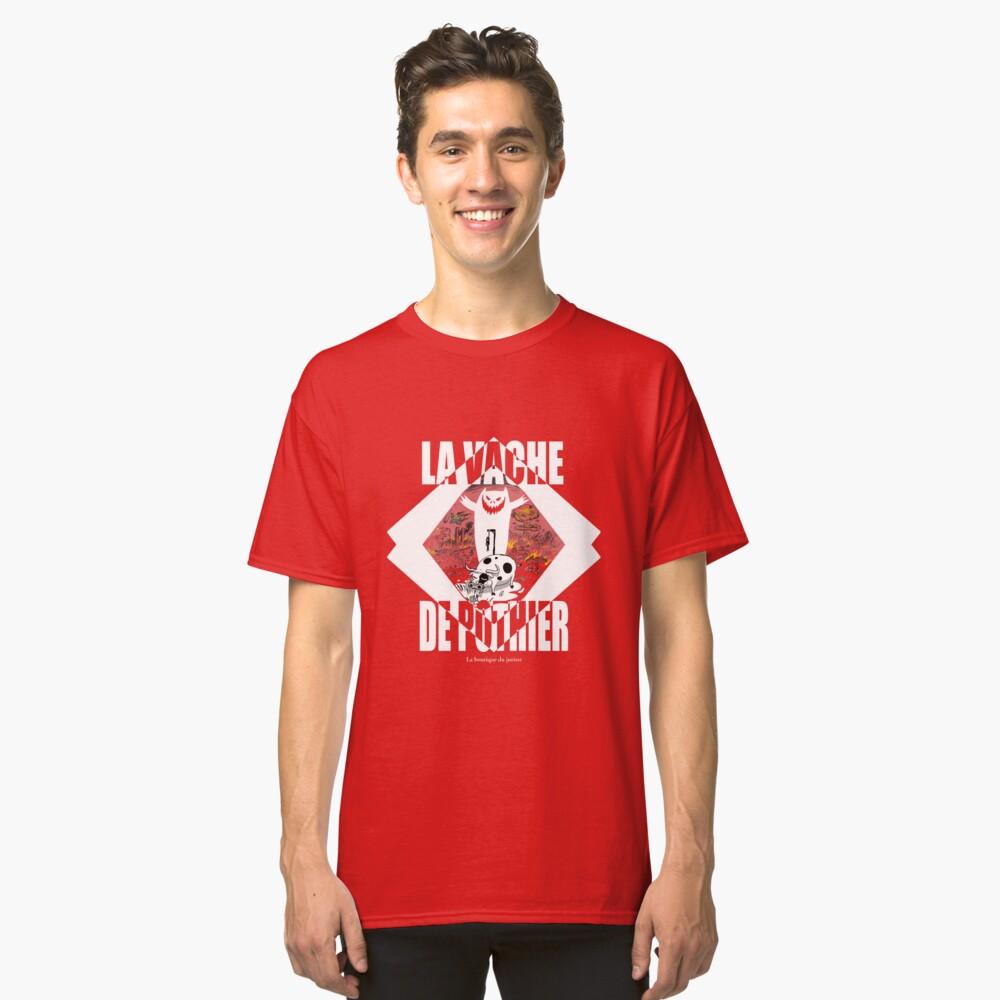 T-shirt classique «La vache de Pothier»