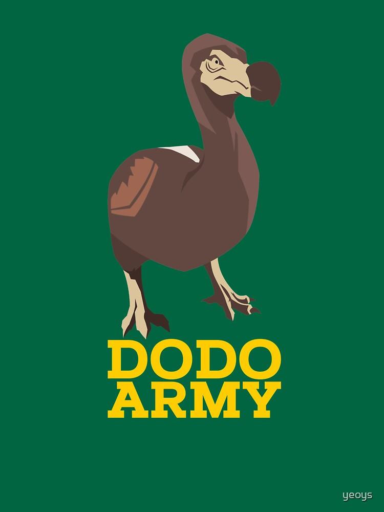 Dodo Army - Video Game Gift von yeoys